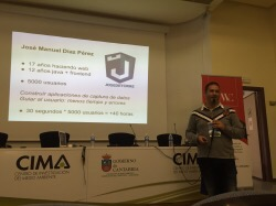 Jose Manuel Diaz en Wordpress Day Cantabria