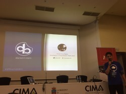 Dario Balbontin en Cantabria Wordpress Day